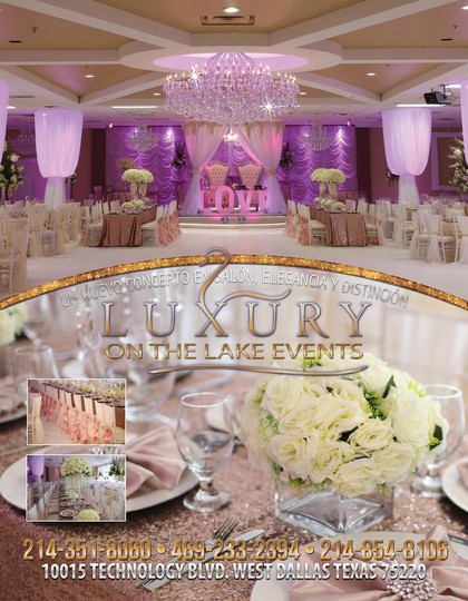 Luxury on the Lake Eventos